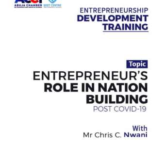 ROLE OF ENTREPRENEURS IN NATION BUILDING